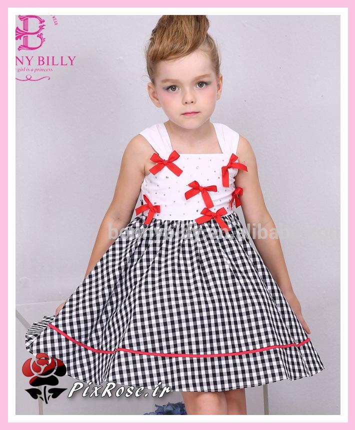 مدل پیراهن تابستانی برای دخترکوچولوها