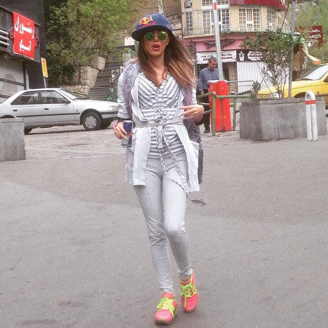 چند عکس از یک دختر تهرانی