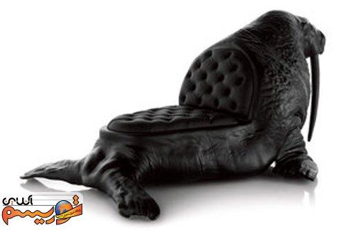 طراحی مبلمان با الهام از حیوانات , جالب و خواندنی