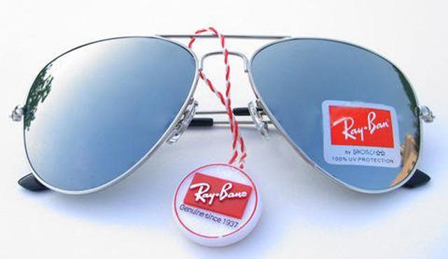 عینک آفتابی اصل شیشه جیوه ایی ریبن