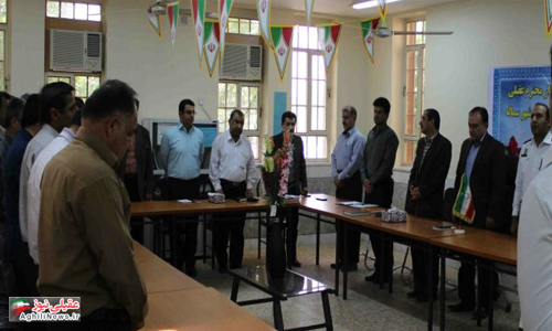شورای اداری شهرستان گتوند در شهر سماله