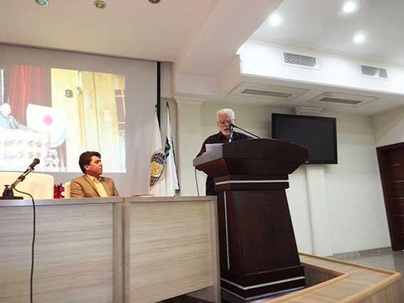 سخنرانی دکتر محمدزاده صدیق در فقدان محمد قلی نادری درهشوری