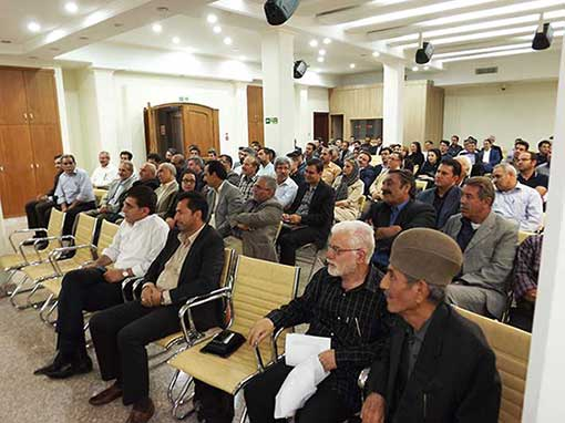 مراسم یادبود مرحوم محمد قلی نادری درهشوری - تهران، شرکت جهانپارس