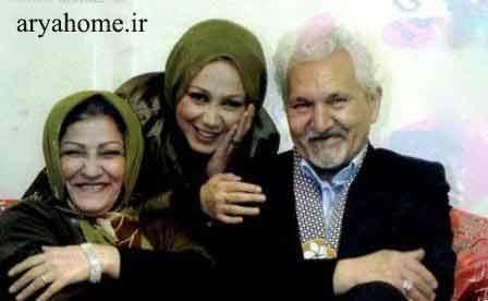 عکس بهنوش بختیاری با پدر ومادرش , عکس های بازیگران
