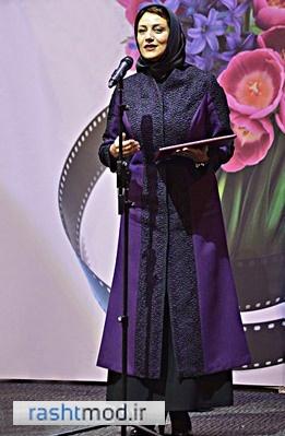 عکسهای گلچین جدید مدل مانتو بازیگران زن ایرانی تابستان 94