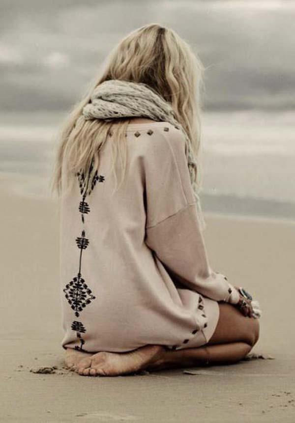دختر تنها و عاشق