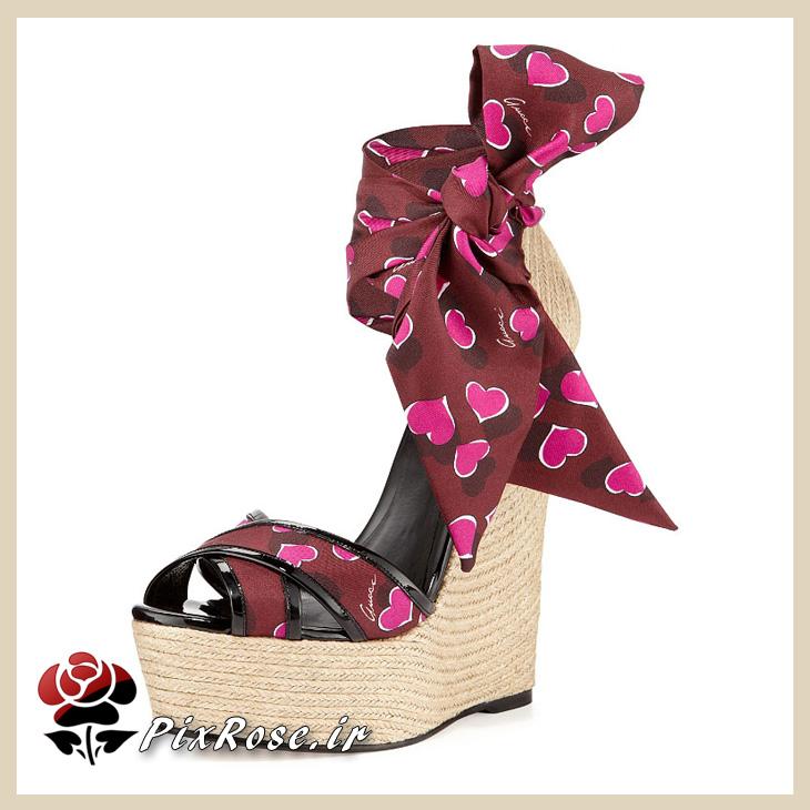 کفش تابستانی لژدار دخترانه