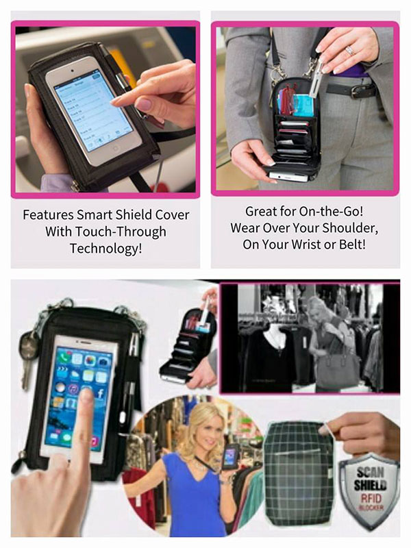 کیف گوشی جدید لمسی اصل