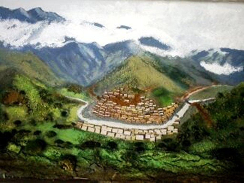 روستای دله مرز اورامان