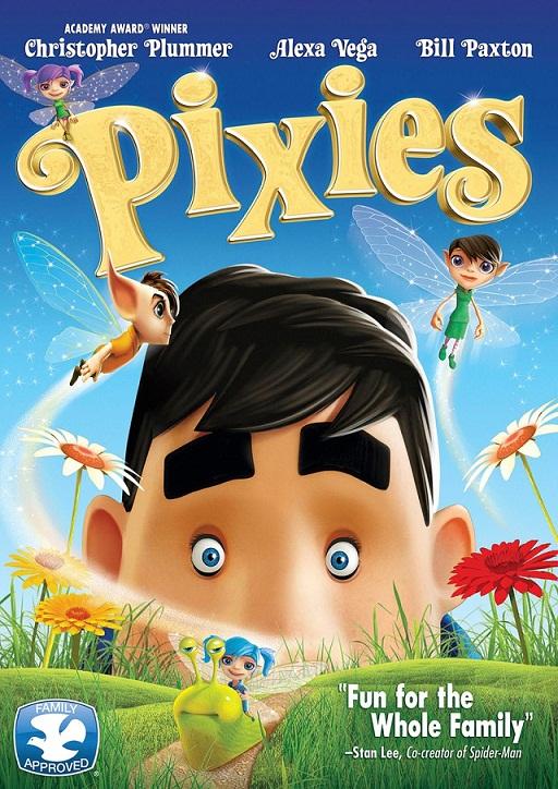 دانلود انیمیشن کمدی جدیدPixies 2015