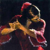 عکس رقص زن کولی