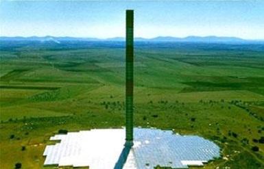 دانلود پروژه تولید برق با استفاده از برج های نیرو