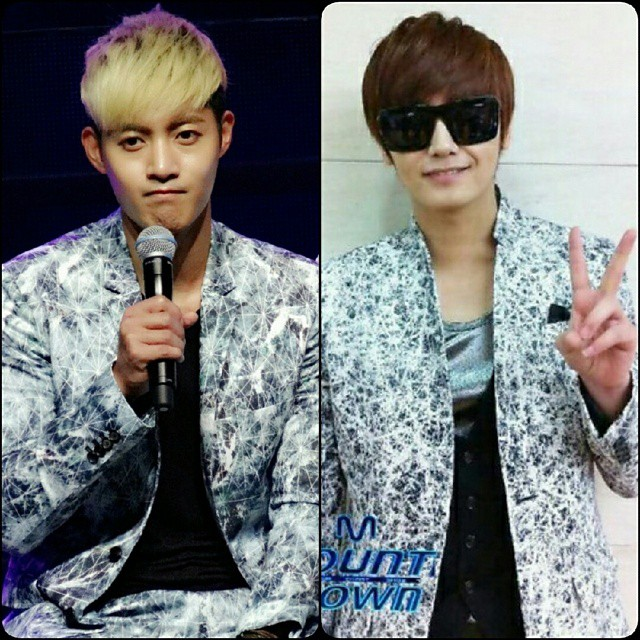 Kim Hyun Joong and Heo Young Saeng