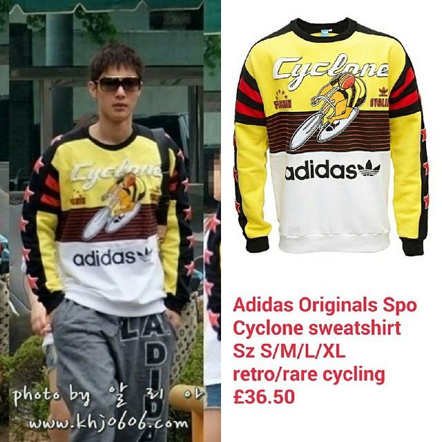 Sponsor - Adidas Originals Spo Cyclone Sweatshirt