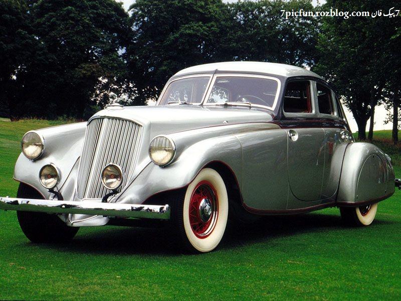 عکس اتومبیل های قدیمی