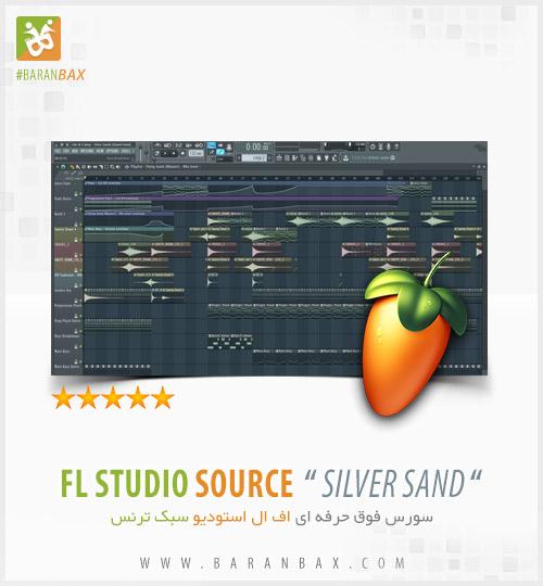 دانلود سورس اف ال استودیو سبک ترنس Silver Sand FL Studio FLP