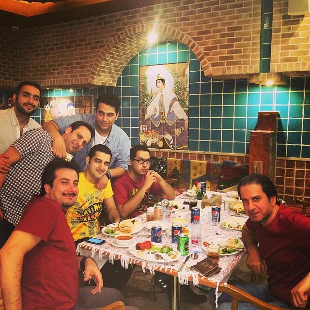پست جدید حمید عسکری (بعد از کنسرت شیراز)