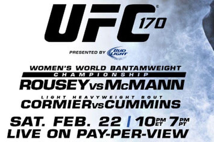 دانلود یو اف سی 170 | UFC 170 : Rousey vs. McMann