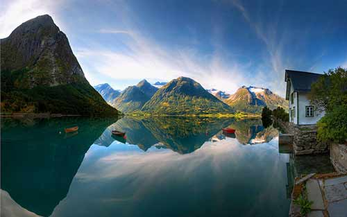 معماری رویایی نروژ+عکس , جالب وخواندنی