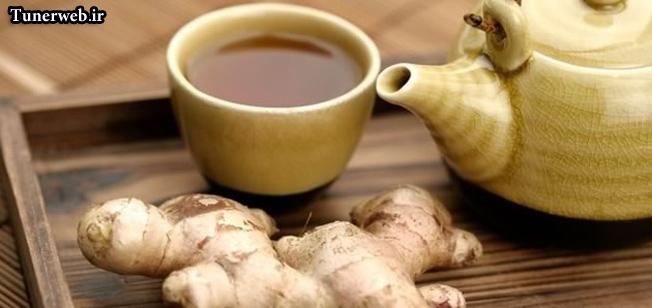 وزن ایده ال با چای زنجبیلی