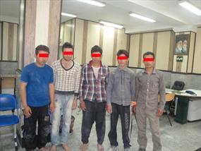 تصاویر دستگیری داعشی های تقلبی در تهران , اخبار گوناگون
