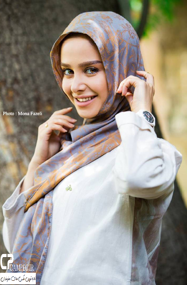 الناز حبیبی با تیپ های متفاوت , عکس های بازیگران