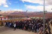 تظاهرات دانشجویان بامیان برای تعطیلی دانشگاه به خشونت کشیده شد