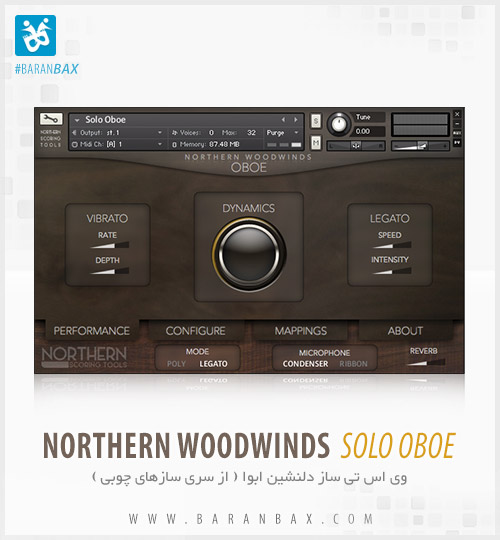 دانلود وی اس تی ابوا Northern Woodwinds Solo Oboe