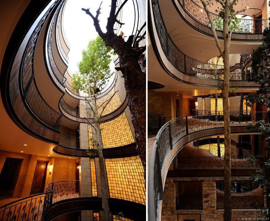 11 معماری ساختمان که شما را شگفت زده میکند
