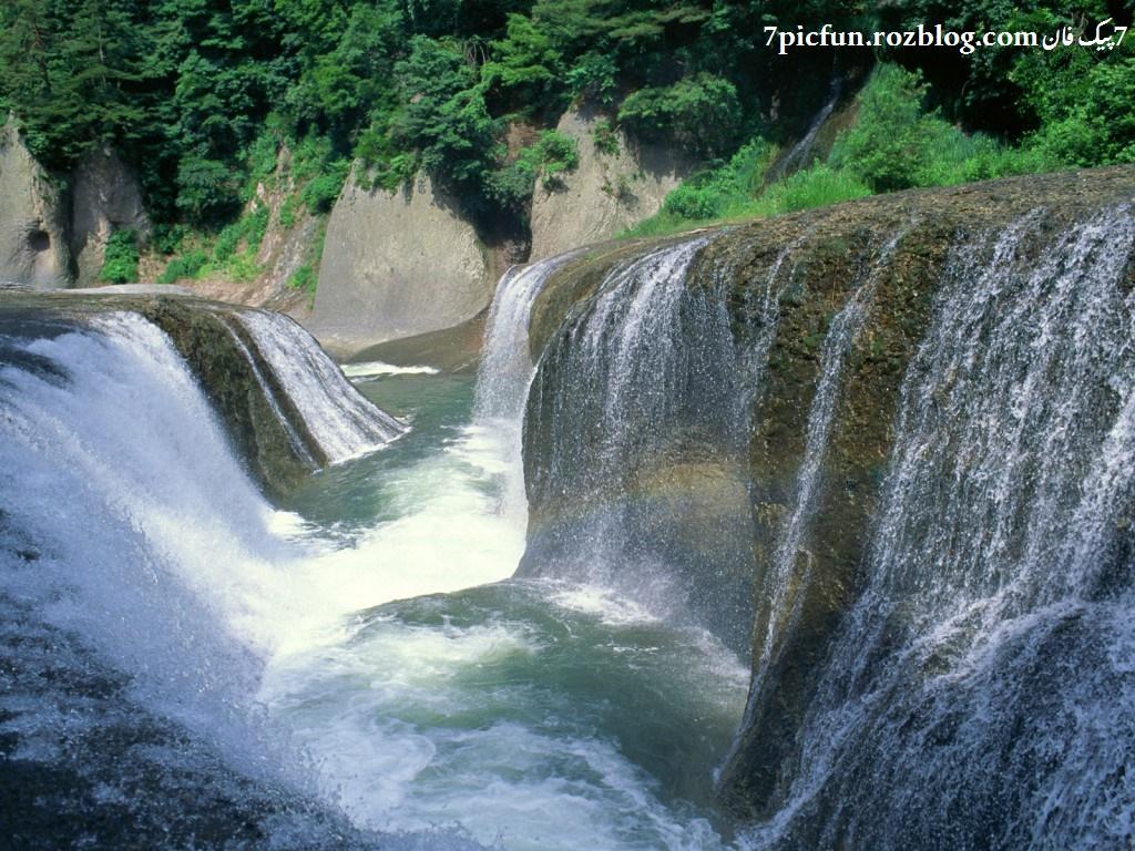 تصاویر آبشار های دیدنی