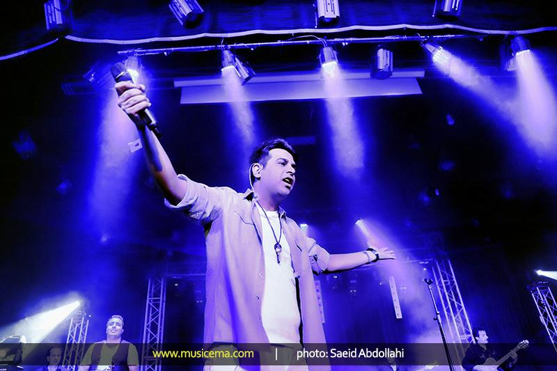 پست جدید حمید عسکری (ویدیو کنسرت شیراز)
