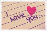 تصاویر عاشقانه  I Love You