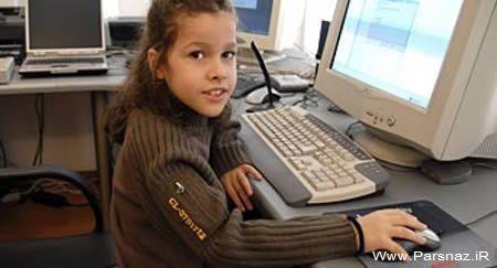 دختری که جوانترین کارشناس آی تی در جهان است + عکس , جالب و خواندنی