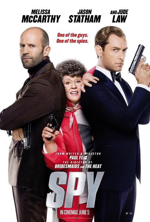دانلود رایگان دوبله فارسی فیلم Spy 2015