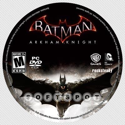 لیبلدیسک Batman Arkham Knight