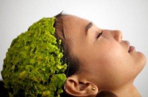 ماسک برای موهای خشک با چند محصول طبیعی و خانگی , آرایش و زیبایی