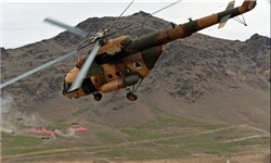 در اثر سقوط هلیکوپتر اردوی ملی در زابل 17 سرنشین کشته شدند