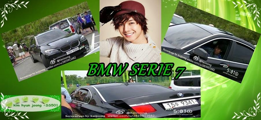 Photo - Kim Hyun Joong Car - BMW Series 7