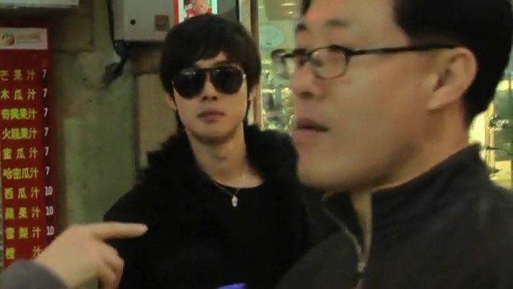 Kim Hyun Joong Father