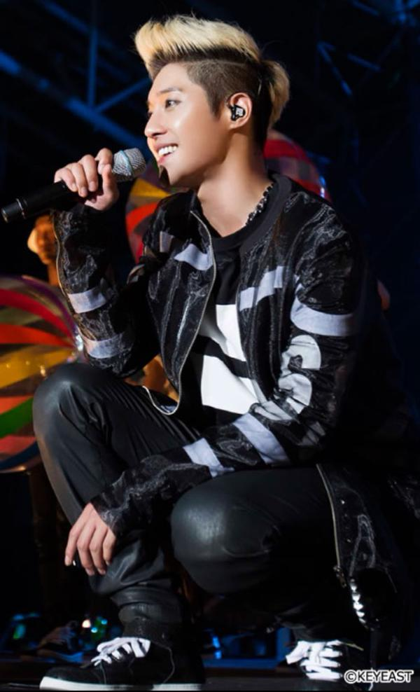 [Photo] Kim Hyun Joong - Japan Mobile Site Update [15.07.30]