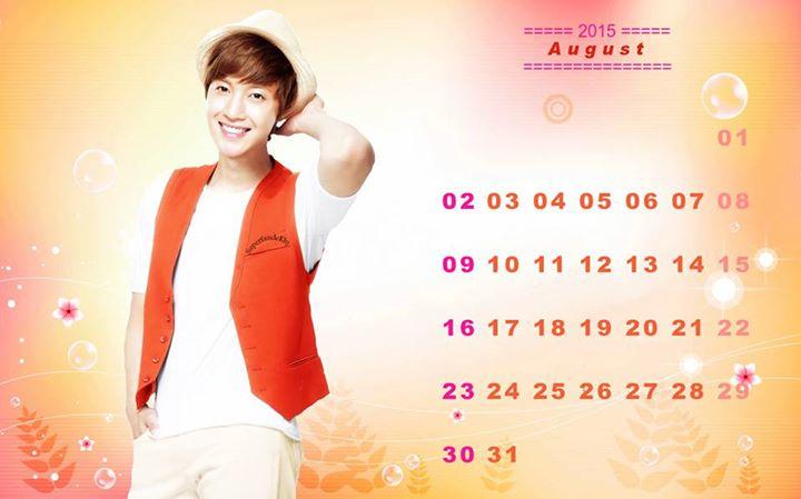 Wallpaper August Schedule