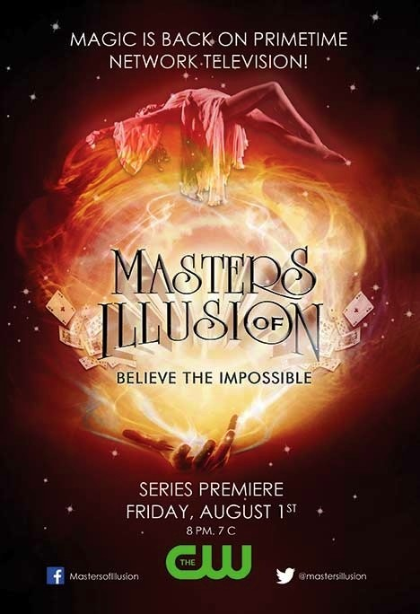 نمایش شعبده بازی Masters Of Illusion