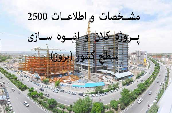 بانک اطلاعات پروژه های در حال ساخت ساختمانی