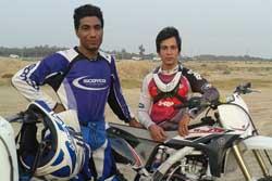 راهیابی موتورسواران بوشهری به تیم ملی