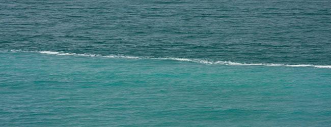 جدایی دریاهای شور و دریاهای شیرین