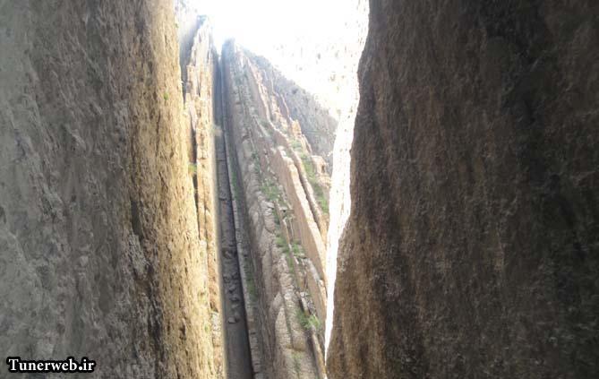 تصاویری از صخره های زیبای قره سو کلات نادر
