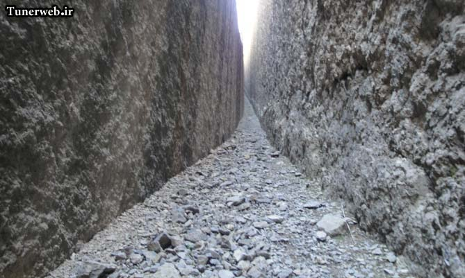 تصاویری زیبا از صخره های قره سو کلات نادر