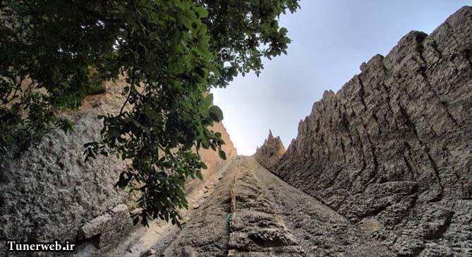 تصاویری از صخره های قره سو کلات نادر