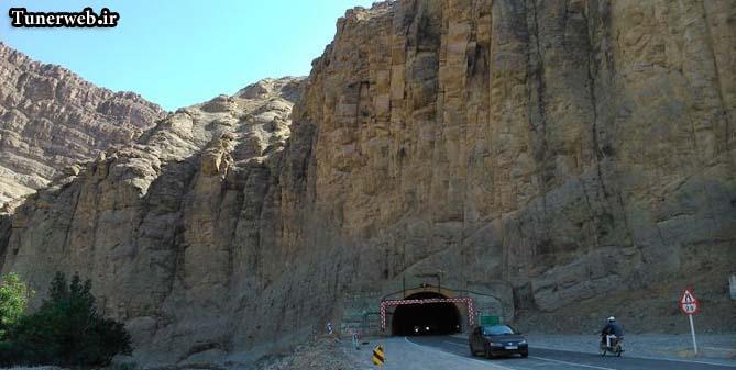 تصویری از تونل و راه ورودی شهر کلات نادر