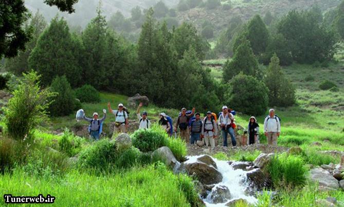 تصویری از ارتفاعات رشته کوه هزار مسجد شهرستان کلات نادر